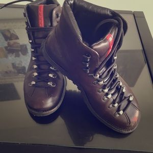 Prada Work Boot Size 7